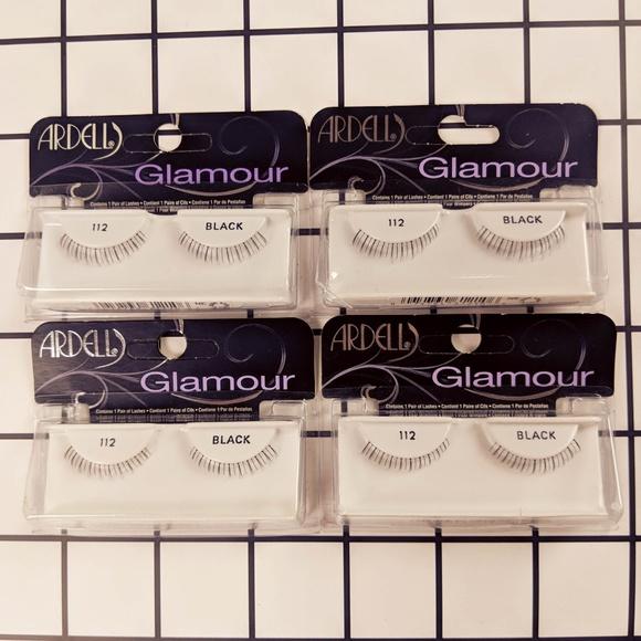 dc412515b49 Ardell Makeup | Lashes Bundle Of 4 Lower Lash 112 Black | Poshmark